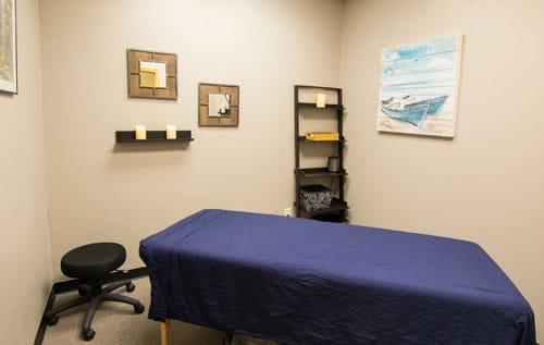 Chiropractic Davenport IA Patient Room